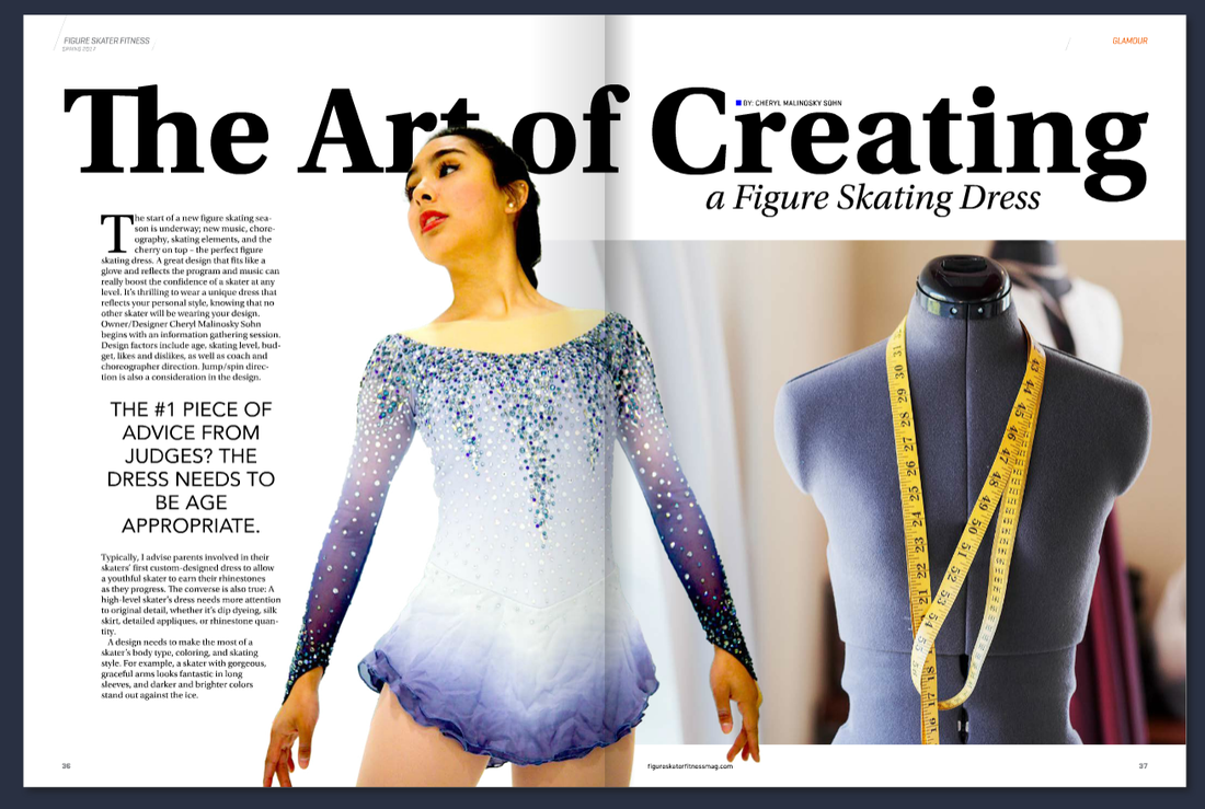 The Art Of Creating A Figure Skating Dress Sk8 Gr8 Designs